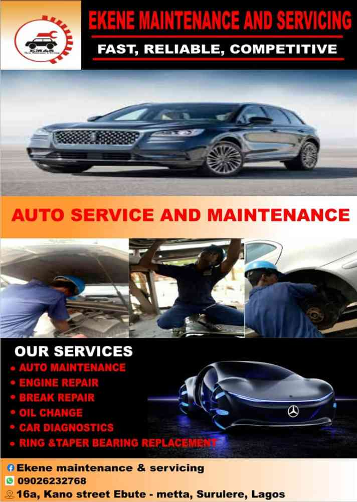 ekene maintenances and servicing